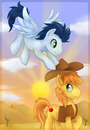 Soarin and Braeburn