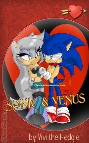 Sonic and Venus Romance Novel