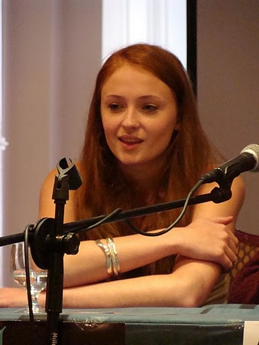 Sophie Turner at TitanCon