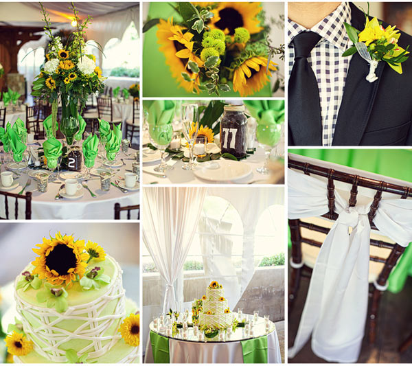 Wedding Cake Ideas For Summer Wedding : Sunflower Themed Wedding - Flowers Photo (25784358) - Fanpop