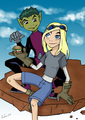 Teen Titans- BB and Terra