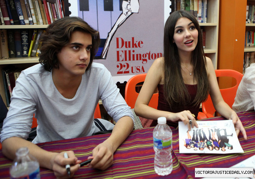 "The Cast Of ""Victorious"" Visit Duke Ellington School Of The Arts In Washington D.C."