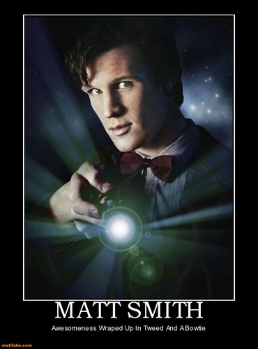 Matt Smith: The Doctor Hintergrund titled The Magnificent Matt