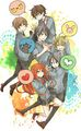 The Marauders  - harry-potter-anime photo