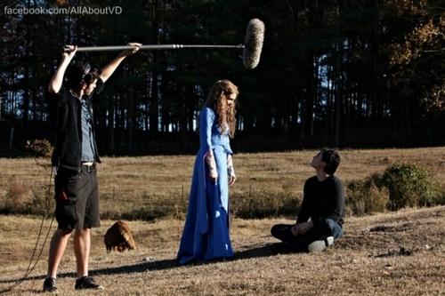 The Vampire Diaries new बी टी एस