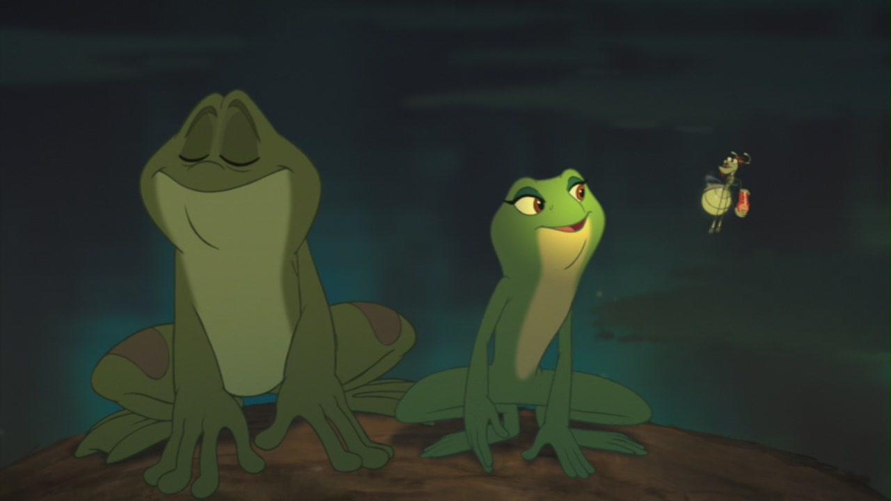Princess and the frog prince naveen race