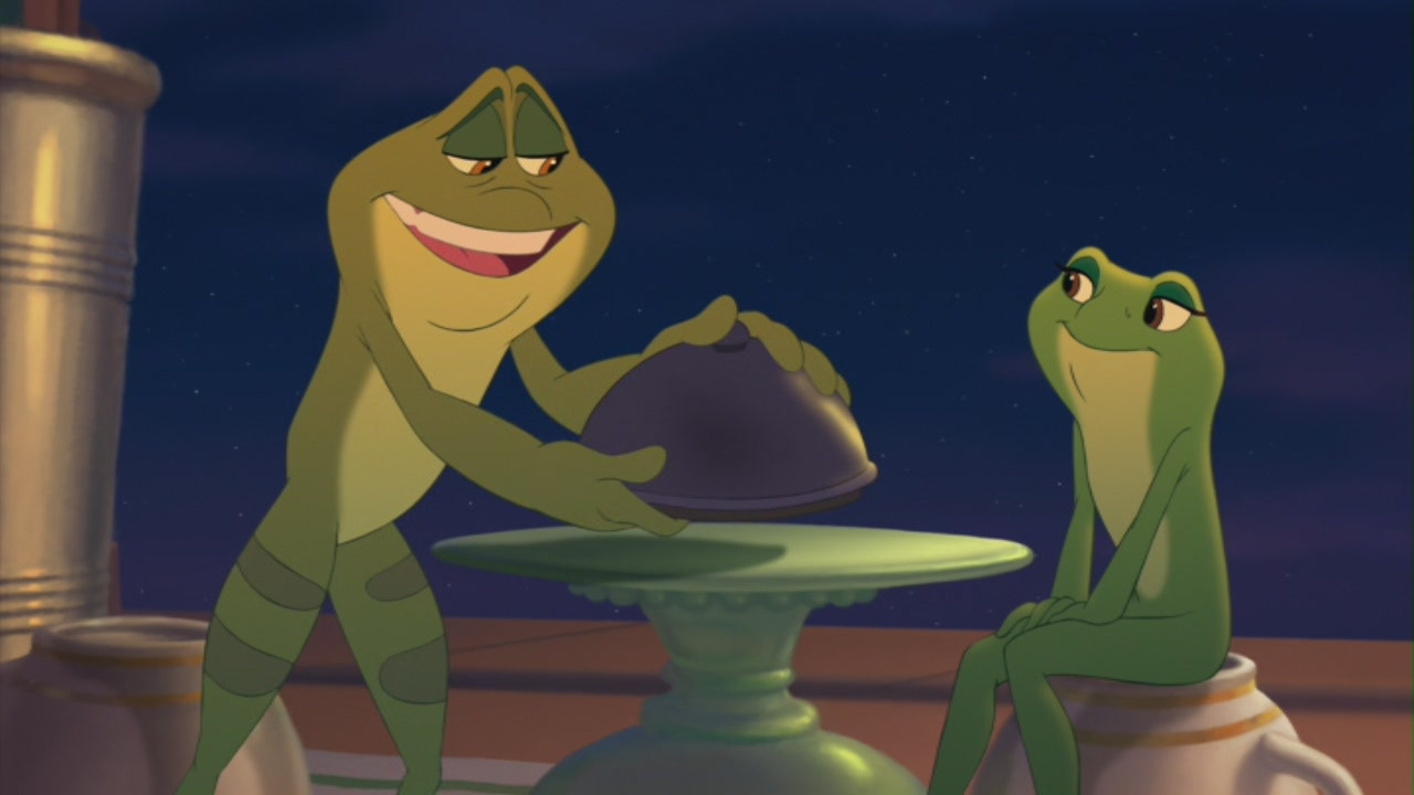 """Tiana & Prince Naveen in """"The Princess and the Frog ..."""