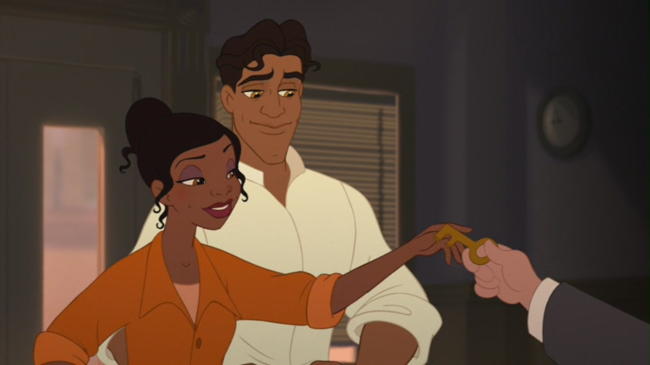 Tiana Prince Naveen In The Princess And The Frog Couples