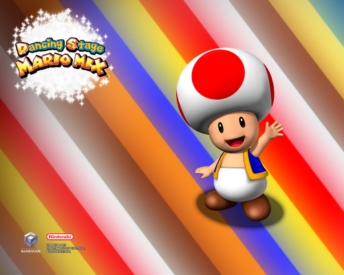 Nintendo wallpaper called Toad