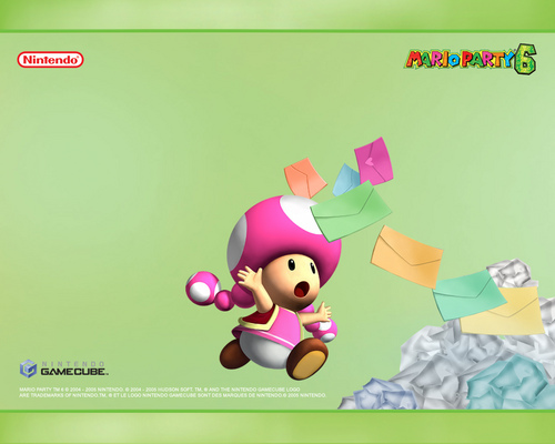 Nintendo پیپر وال entitled Toadette