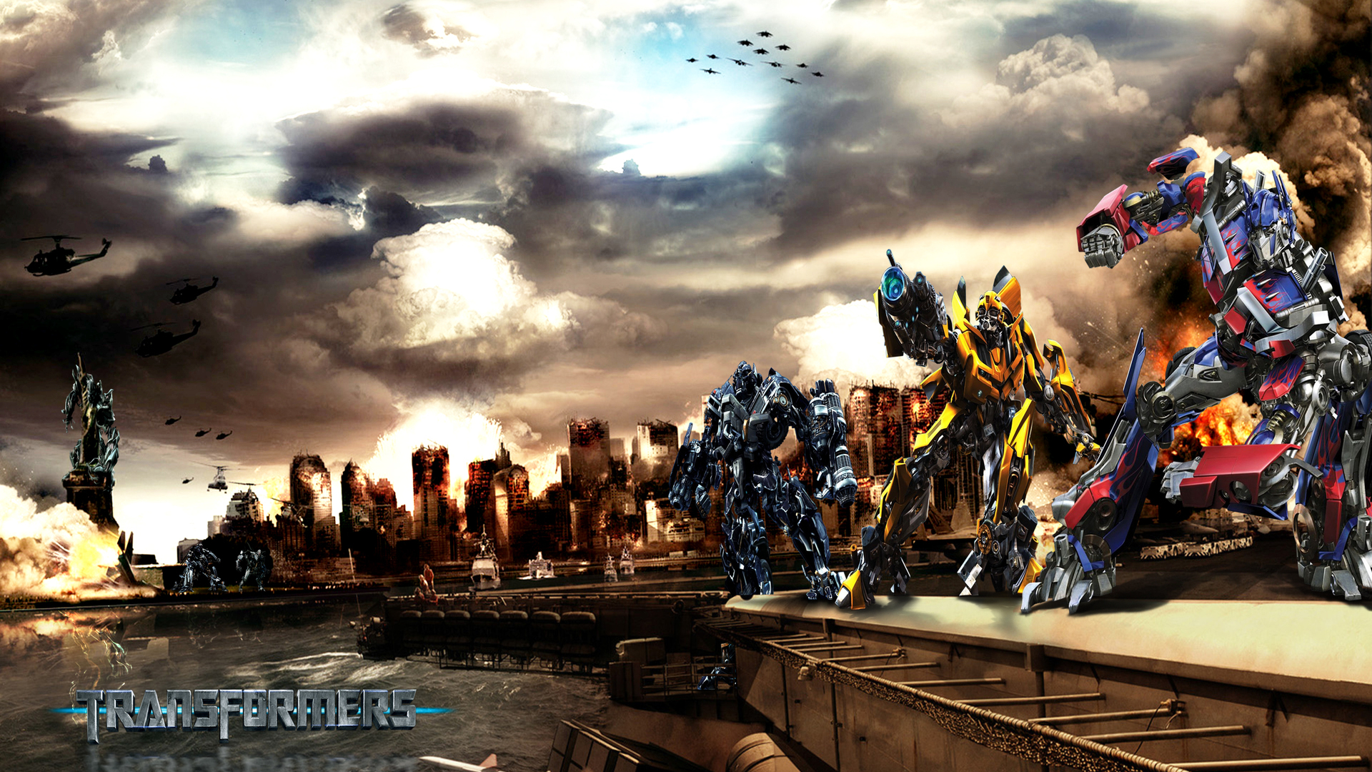 Hot new movies cars images transformers 1 the saga begins - Transformers desktop backgrounds ...