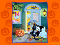 Trick or Treat Uncle Donald - childhood-memories wallpaper