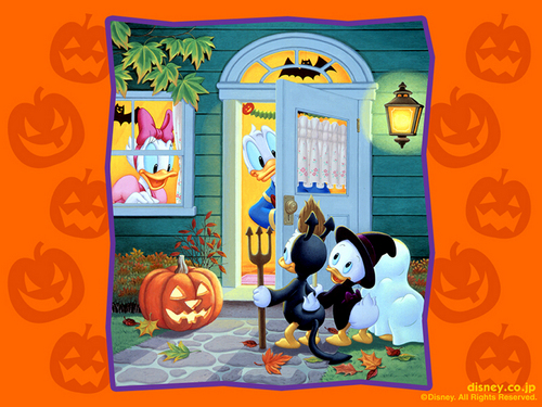 Trick oder Treat Uncle Donald
