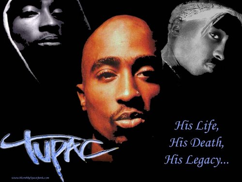 Tupac Shakur wallpaper possibly with a portrait and anime called Tupac 1024x768