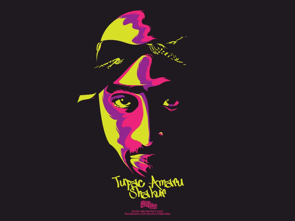 Tupac 1024x768 Tupac Shakur Wallpaper 25745874 Fanpop