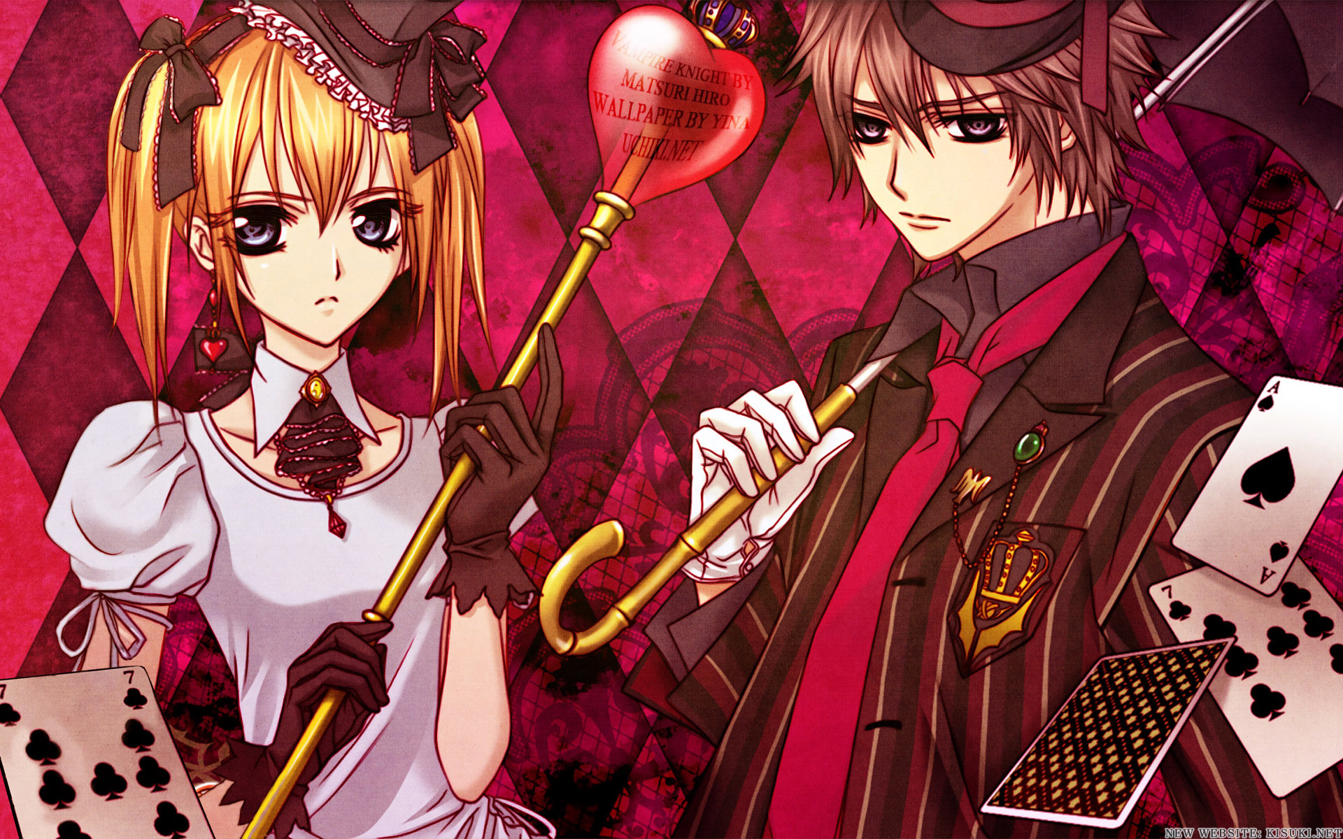 Vampire Knight Couple - Anime Couple Wallpaper (25713311 ...