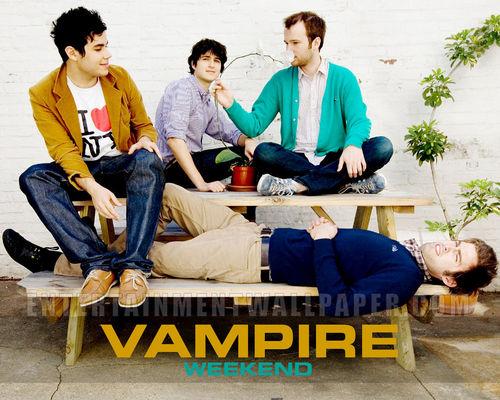 Vampire Weekend wallpaper titled Vampire Weekend <3