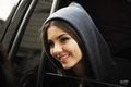 Victoria Justice leaving her hotel in Washington DC