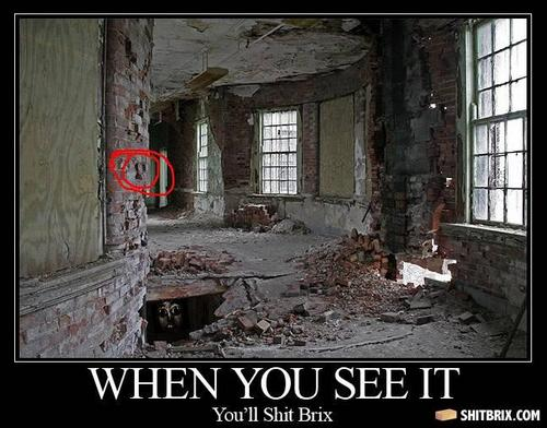 When you see it, bricks will be shat.
