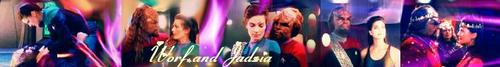 Worf and Jadzia - Banner