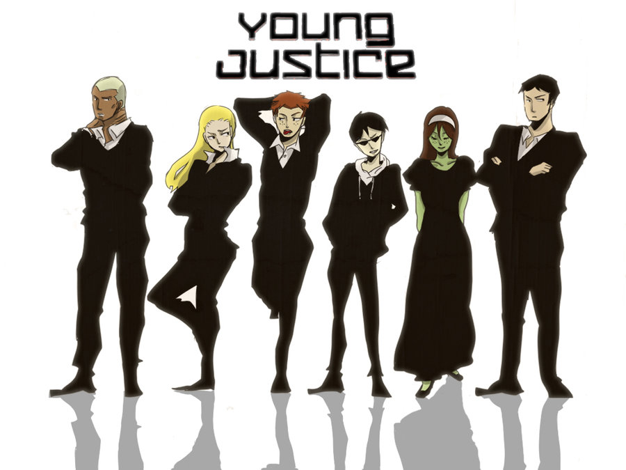 yj goes undercover young justice wallpaper 25788144
