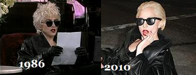 Yeah lady gaga is very original....pfff