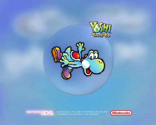 Yoshi wallpaper titled Yoshi Touch & Go