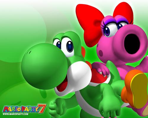 Yoshi and Birdo