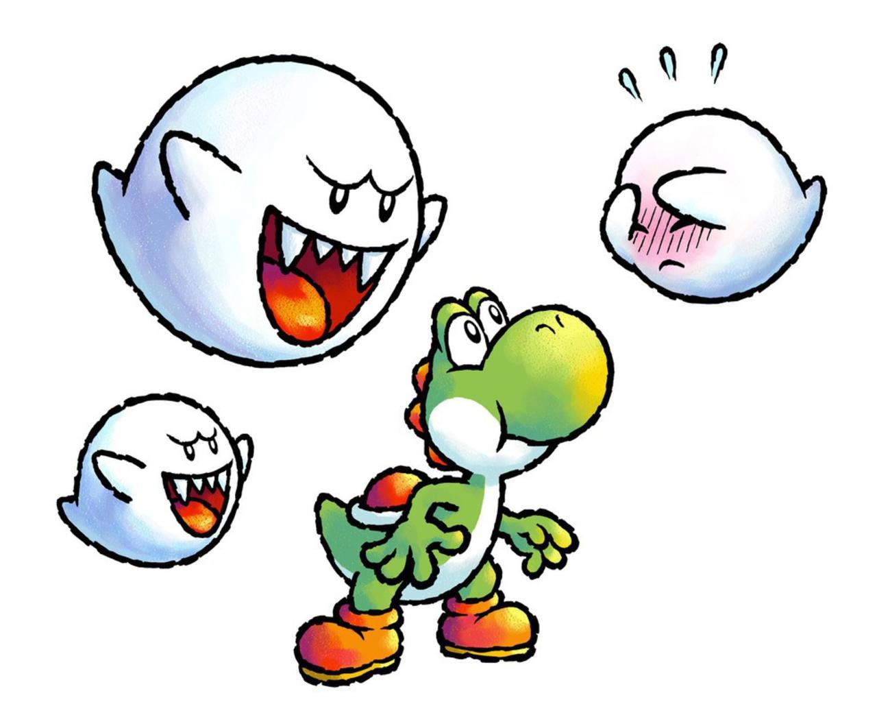 Yoshi And Boo Nintendo Villains Fondo De Pantalla 25771915 Fanpop