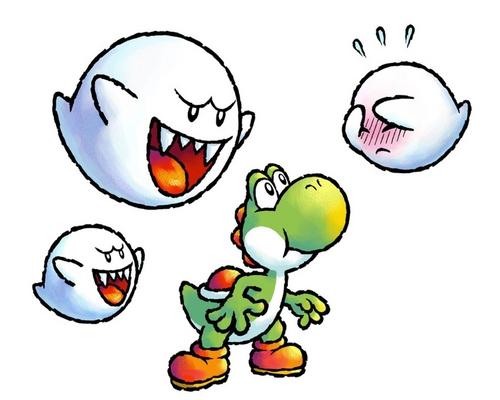 Yoshi and Boo