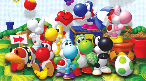 Yoshi and friends