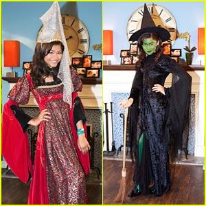 Zendaya & Bella Thorne 'Shake Up' Halloween