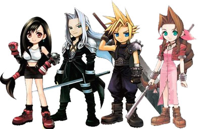 Final Fantasy VII achtergrond possibly with a surcoat and a tabberd, tabard inn titled ffVll