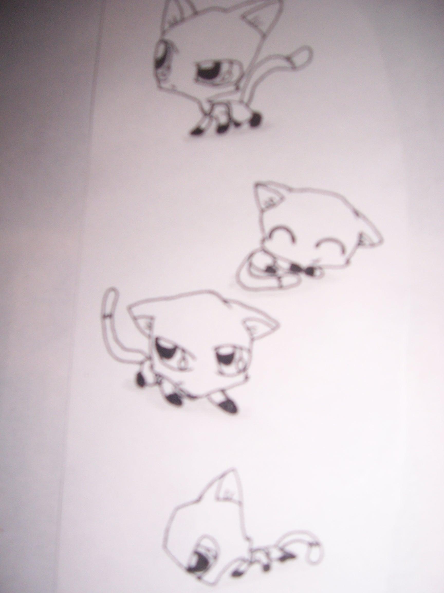 kitten Zim doodles