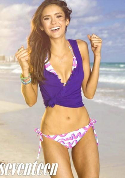 Nina dobrev bikini join
