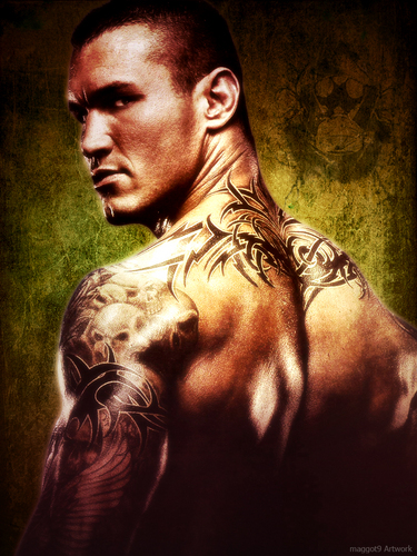 Randy Orton wallpaper possibly containing anime entitled randyorton
