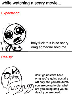 scary films