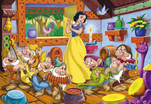 snow white nd 7 dwarves संगीत