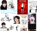 wimpy kid wall paper i made