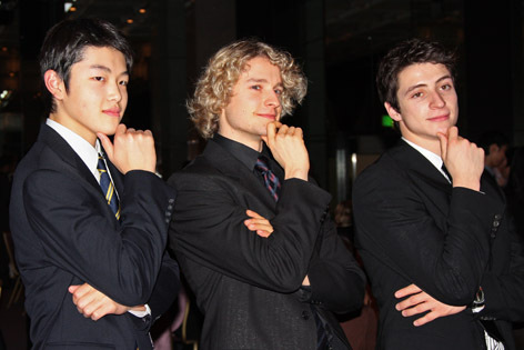 with ALEX SHIBUTANI and CHARLIE WHITE