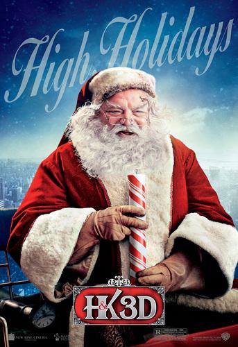 'A Very Harold & Kumar Christmas' Promotional Poster ~ Santa
