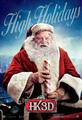 'A Very Harold & Kumar Christmas' Promotional Poster ~ Santa - harold-and-kumar photo