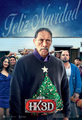 'A Very Harold & Kumar Christmas' Promotional Poster ~ Danny Trejo