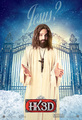 'A Very Harold & Kumar Christmas' Promotional Poster ~ Jake M Johnson as Jesus - harold-and-kumar photo