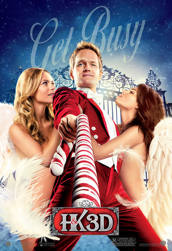 'A Very Harold & Kumar Christmas' Promotional Poster ~ Neil Patrick Harris