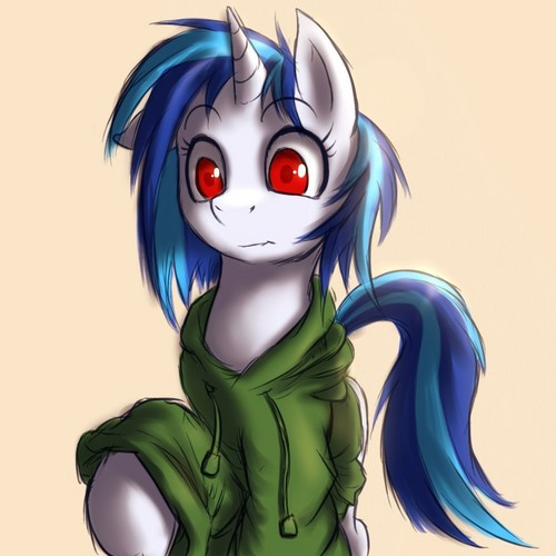 Vinyl Scratch wallpaper probably containing anime entitled .:Dj Pon-3:.