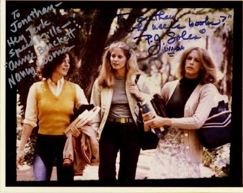 ♥ PJ Soles, Nancy Kyes and Jamie Lee Curtis
