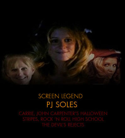 ♥ The 퀸 of Horror ~ PJ Soles ♥