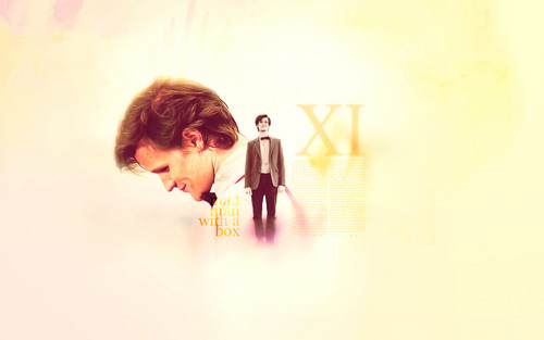 The Eleventh Doctor wallpaper probably with a concert entitled 11th Doctor♥