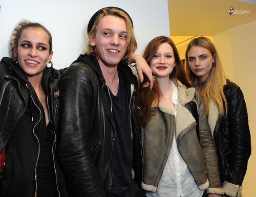 Jamie Campbell Bower wallpaper with a well dressed person called 2011 - Official Closing Party for the British Fashion Council